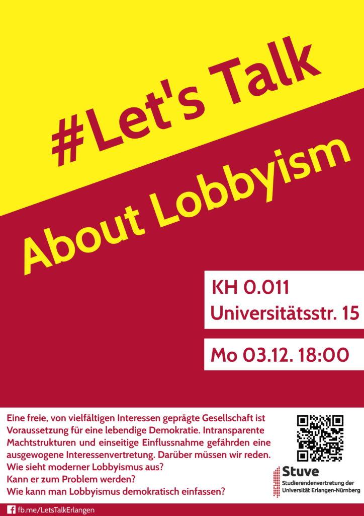Poster Lets Talk