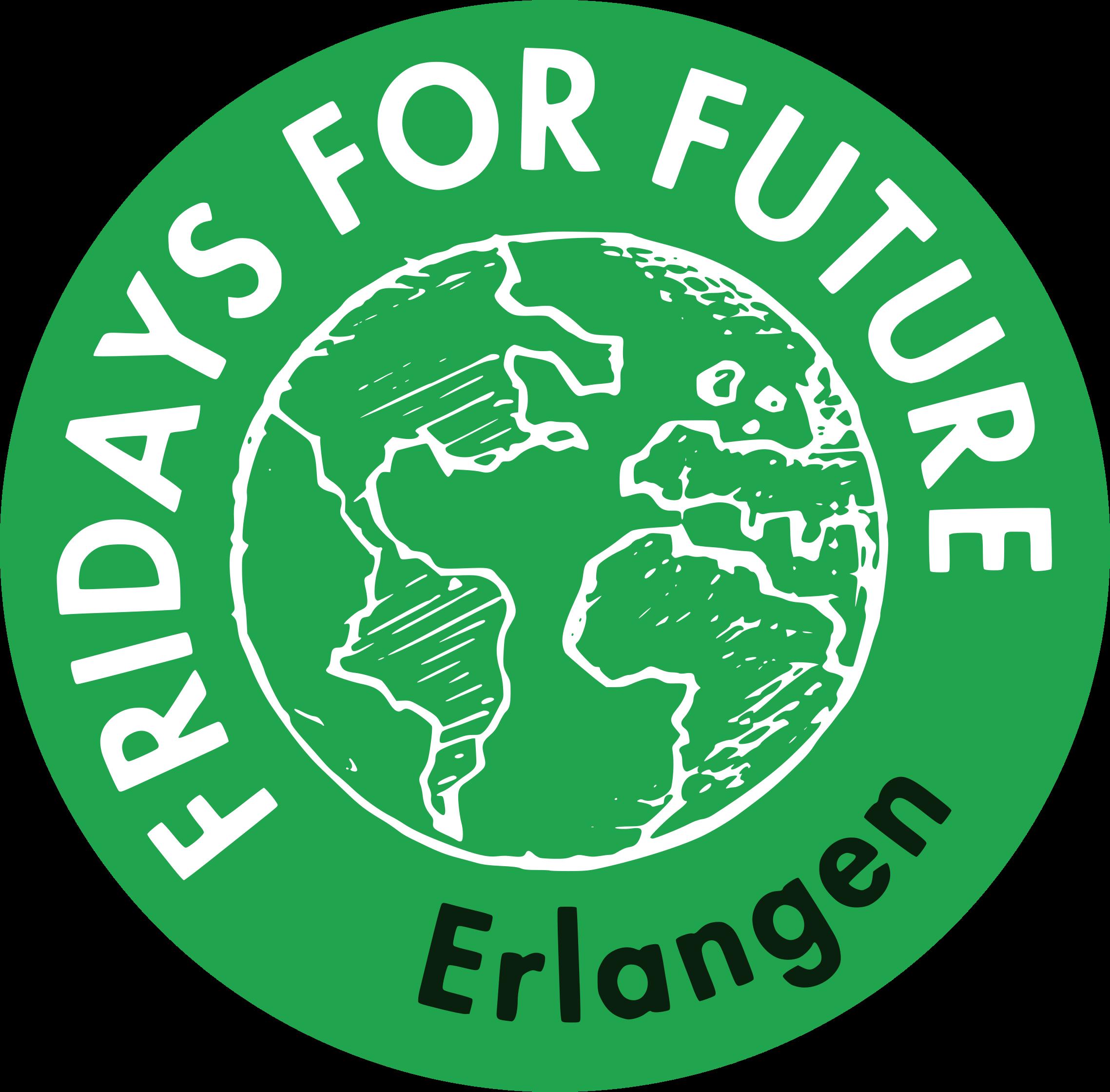 Fridays For Future Erlangen Logo